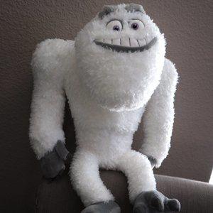 DISNEY STORE PIXAR Plush YETI Abominable Snowman